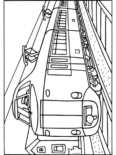 Trein Kleurplaat Ns by Koploper Trein Ns Knutselpagina Nl Knutselen