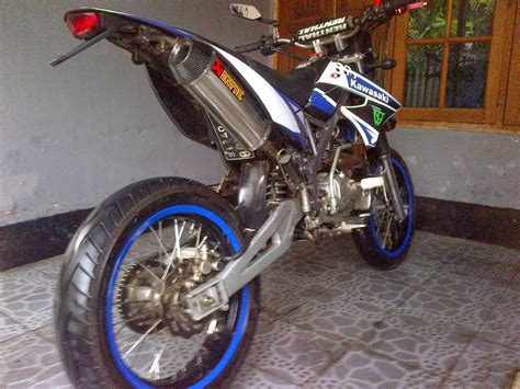 Gambar Motor Kawasaki Kx by Klx D Tracker Modifikasi Thecitycyclist