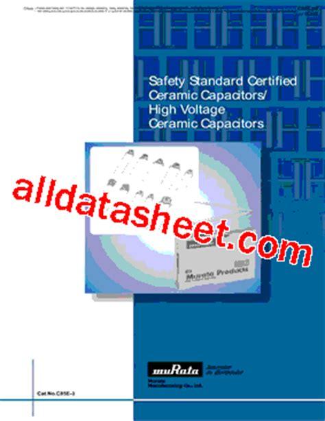 De1e3kx222ma01 Datasheet(pdf)  Murata Manufacturing Co, Ltd