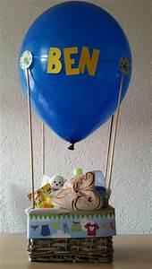 Geschenke Zur Geburt Basteln : geschenk zur geburt basteln pinterest baby geschenke ballon d 39 or und baby ~ Udekor.club Haus und Dekorationen