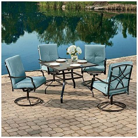wilson fisher 174 palm harbor 5 cushion dining set