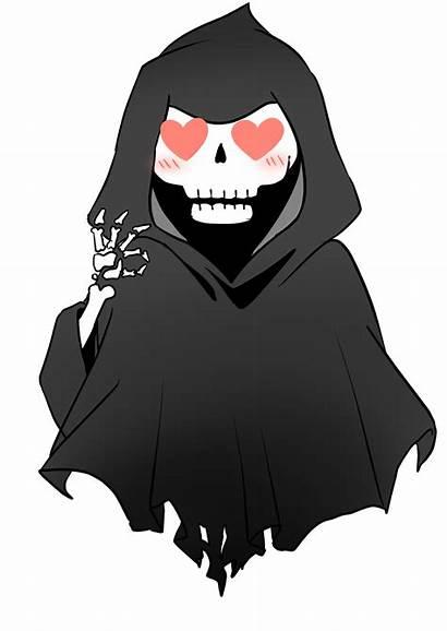 Grim Chibi Commission Deviantart Anime Drawings Deviant