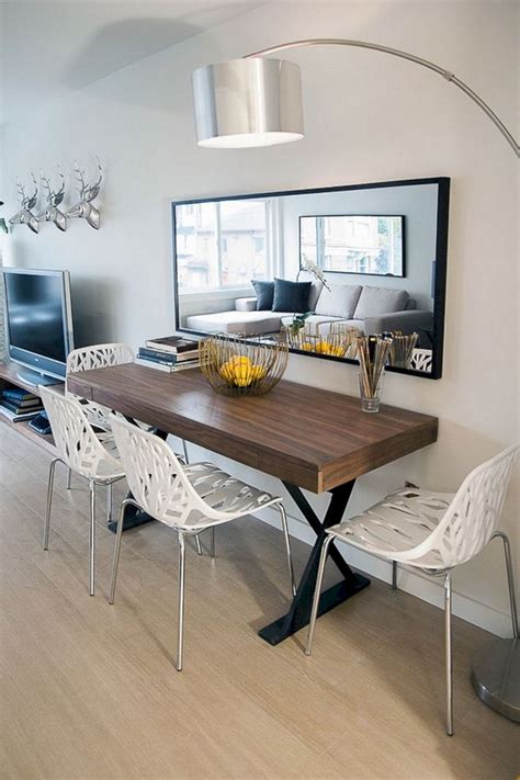 simple  minimalist dining table decor ideas