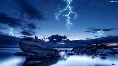 Lightning Cool Wallpapers Backgrounds Background Baltana Phone
