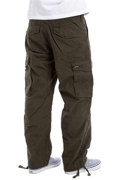 Reell Cargo Ripstop Pants (forest Green) Buy At Skatedeluxe