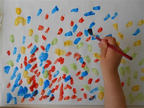 pointillisme en peinture le blog de thali activites