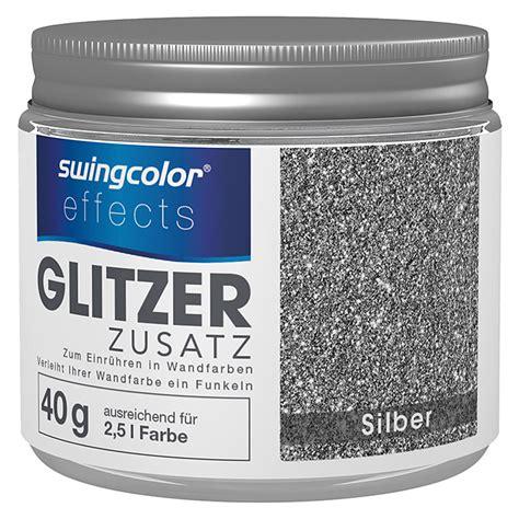 Farbe Mit Glitzereffekt by Swingcolor Effects Glitzereffekt Zusatz Silber 40 G