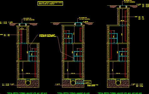 Deep Manhole Construction Details DWG Detail for AutoCAD