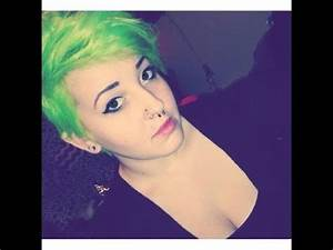 ¿Cómo pinto mi cabello ♥ Electric Lizard de Manic Panic
