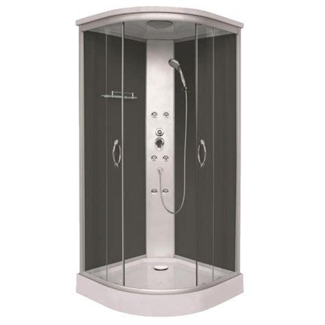 cabina doccia angolare 90x90 box doccia idromassaggio angolare 90x90 nero in offerta