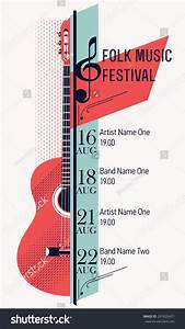 Beautiful Modern Classical Music Festival Poster Or Flyer ...