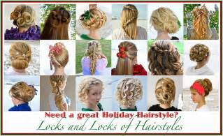 Easy Holiday Hairstyles