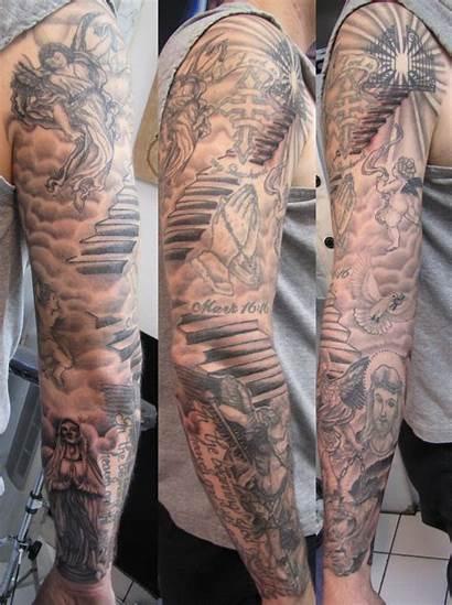 Tattoo Sleeve Angel Tattoos Designs Arm Heaven