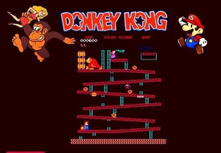 mania donkey kong classic arcade games video