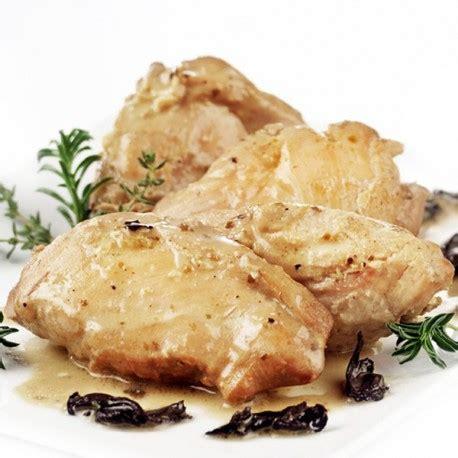 plat cuisiné sous vide filet de volaille entre terre et mer sachet 250gr le