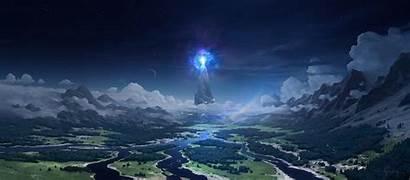 Andead Maximov Andrey Fantasy Deviantart Tower Clouds