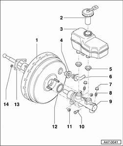 Audi A3 Break : audi workshop manuals a3 mk1 brake system brakes hydraulics regulator servo brake ~ Medecine-chirurgie-esthetiques.com Avis de Voitures