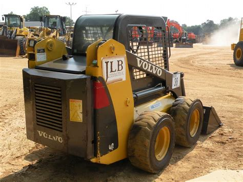 volvo mc skid steer loader jm wood auction company