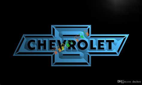 2017 Lg033 Chevrolet Neon Light Sign Hang Sign Home Decor