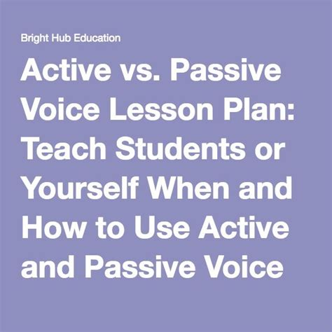 25 best ideas about active voice on tenses
