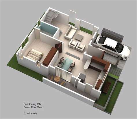 1500 sq ft home plans east facing plans 3 bhk duplex villas