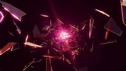 Broken Glass Background Flying Storyblocks Loopable Motion
