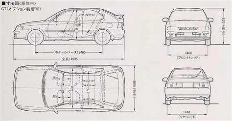 Toyota Corolla Dimensions by Toyota Corolla Interior Dimensions