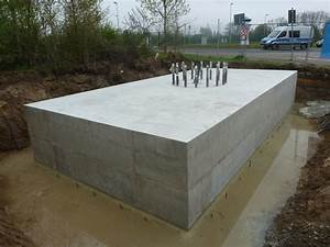 Fundament Mit Betonplatten : fundament f r werbetr ger kamlot bau gmbh ~ Articles-book.com Haus und Dekorationen