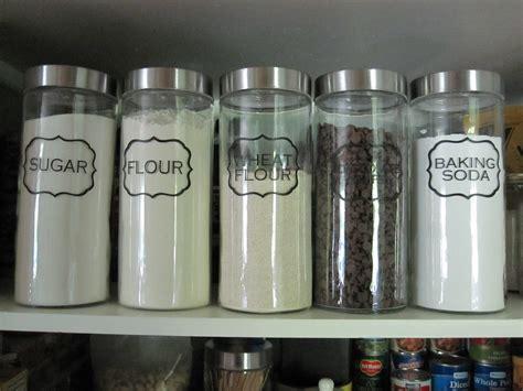pantry jar labels
