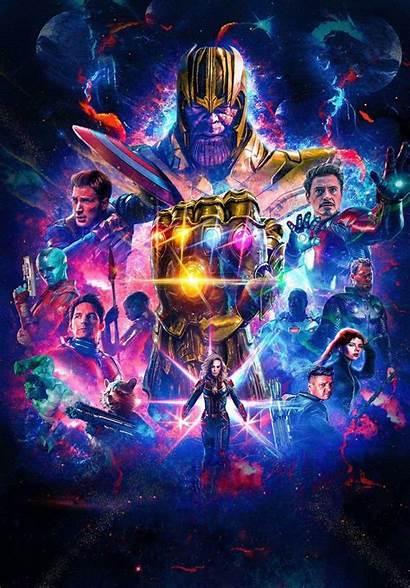 Wallpapers Endgame Marvel Avengers 4k End Infinity