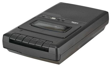 Audio Cassette Player by Bush Cassette Player And Recorder Black Crs 132 Usb Ebay