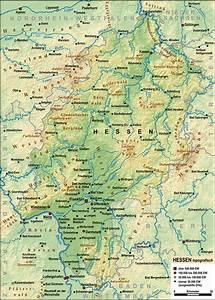 Deutschland Physische Karte : file hessen topografisch relief wikimedia commons ~ Watch28wear.com Haus und Dekorationen