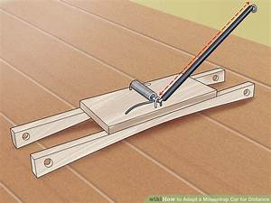3 easy ways to adapt a mousetrap car for distance wikihow malvernweather Gallery