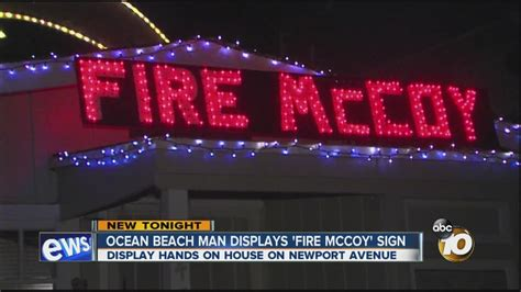 Chargers Fan Fed Up, Installs Giant 'fire Mccoy' Sign