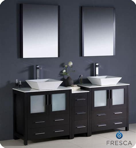 "Fresca Torino 72"" Modern Double Sink Bathroom Vanity"