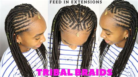 Tribal Braids & Cornrows Tutorial