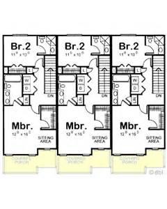 mediterranean home builders amazingplans multi plex plan db7228 triplex