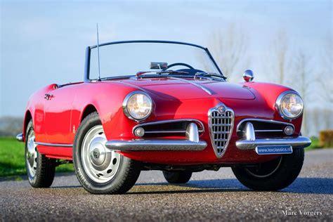Alfa Romeo Giulietta 1300 Spider, 1958