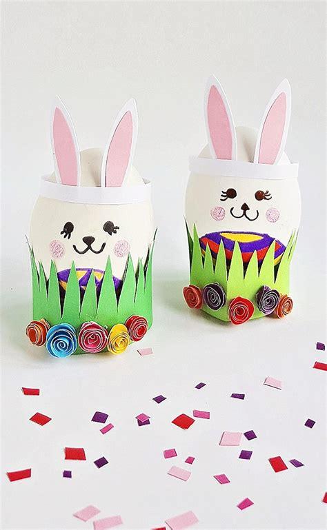 cute  easy easter egg bunny craft  wonderful