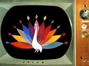 Original 1957 Nbc Peacock
