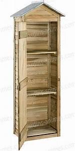 Meuble Rangement Terrasse : armoire de rangement bois fsc mobilier de jardin ~ Teatrodelosmanantiales.com Idées de Décoration