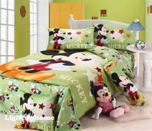 green mickey mouse bedding boys bedding