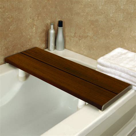 Health Craft WS-BB-PCG Invisia™ Bath Bench™ Shower Seat ...