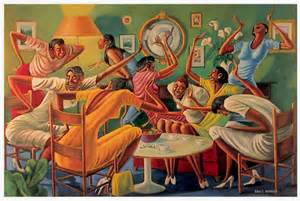 Ernie Barnes Paintings for Sale