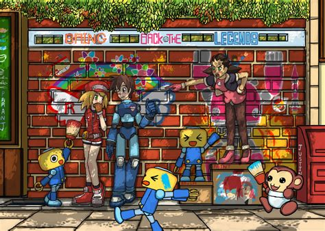 Megaman Legends By Paranj On Deviantart