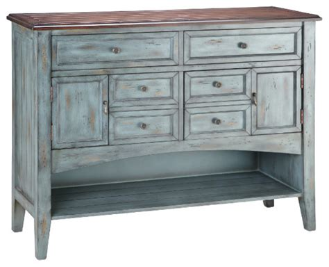 Farmhouse Sideboards And Buffets by Hartford Six Drawer Buffet Server Farmhouse Buffets