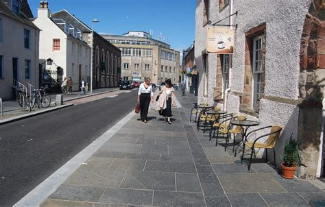 inverness city centre streetscape infrastructure urban