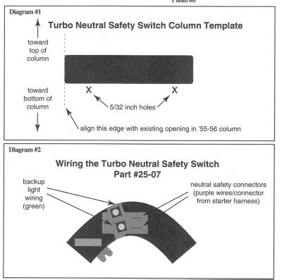 1957 Chevy Neutral Safety Switch Wiring Diagram by Neutral Safety Switch For A Th350 Chevy Message Forum