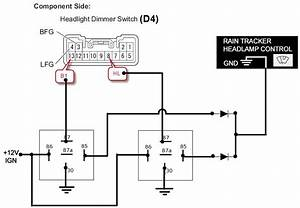 installed rain sensing wipers sensor page 2 toyota With relay switch ppt