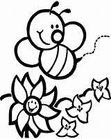 Coloring Honeycomb Bee Honey Pages Printable Print Getcolorings Flower Colorings sketch template